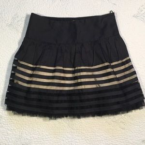 Free people skirt with lace size 4 -used